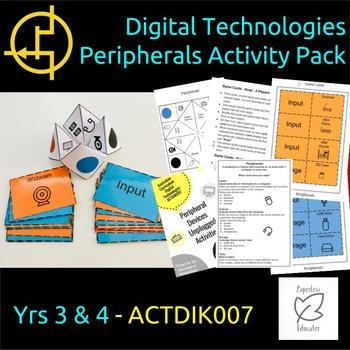 STEM, Learn by Playing, Digital Technologies Peripherals Activity Pack