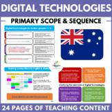 Digital Technologies Scope & Sequence (Australian Curricul