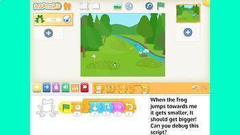 Coding Duo Bestseller Deal - Scratch Jr Fussy Frog & 5 Debugging Challenges