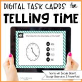 Digital Telling Time Task Cards