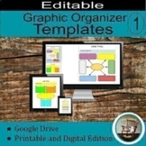 Digital Templates for Interactive Notebook for Google Drive
