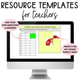 Digital Templates for Teachers (commercial & personal use!)