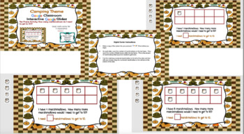 Digital Ten Frame Activity: How many marshmallows would I need to get to 10?