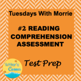 Digital Close Reading Assessment 2 Tuesdays With Morrie ISTEP 10 Prep
