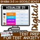 Digital Test Prep for Test Anxiety Activities | Google Sli
