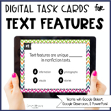 Digital Text Feature Task Cards