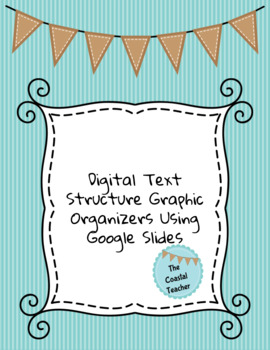 Digital Text Structure Graphic Organizers