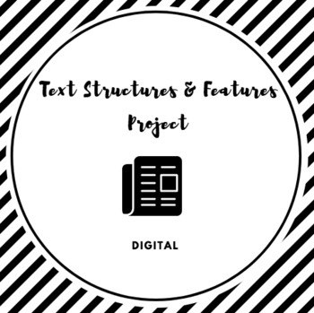 Digital Text Structure and Features Product