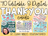 Digital Thank You Cards for Students from Teacher