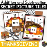 Addition Facts | Thanksgiving Math | Fact Fluency