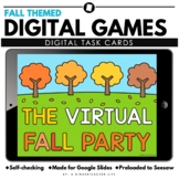 Digital Thanksgiving and Fall Games and Activities Distant