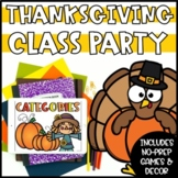 Digital Thanksgiving and Fall Games and Activities   Virtual Thanksgiving Party