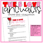 Digital-The 5 Love Languages Quiz & Questions