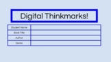 Digital ThinkMarks (Remote Learning Resource for Independent Reading)