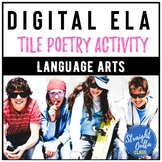 Digital Poetry Activity   Google Classroom   Distance Learning