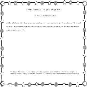 Telling Time, Word Problems & Basic Facts