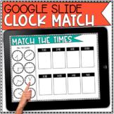 Digital Time Clock Practice with Google Slides : DISTANCE
