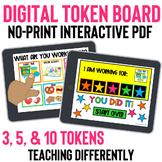 Digital Token Board for Distance Learning