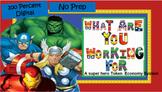 Digital Token Economy system: NO PREP!  Superhero and Gene