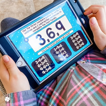 Digital Math Toothy® Task Cards Bundle   1st & 2nd Grade   Distance Learning