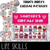 Digital Touch Money Valentine's Day Google Slides Math Activity