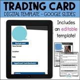 Digital Trading Card Templates | Editable