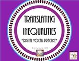 DIGITAL Translating Inequalities - Vocab Practice