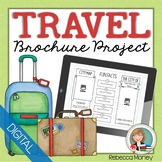 Travel Brochure Research Templates for Google Classroom