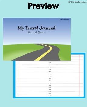 Digital Travel Journal Template