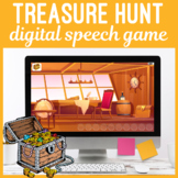 Digital Treasure Hunt Speech & Language Game for No Print