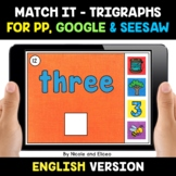 Digital Trigraph Word Work for Google and Seesaw 2 - Dista