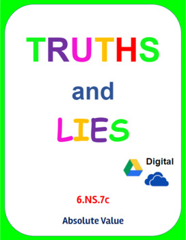 Digital Truths and Lies - Absolute Value (6.NS.7c)