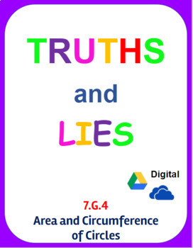 Digital Truths and Lies - Area and Circumference (7.G.4)