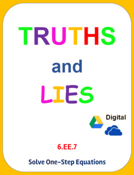 Digital Truths and Lies - Determine the Unknown Value (3.O.A.4)