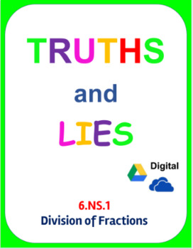 Digital Truths and Lies - Dividing Fractions