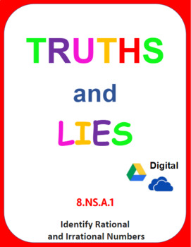 Digital Truths and Lies - Identify Rational and Irrational Numbers  (8 NS A 1)