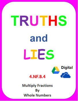Digital Truths and Lies - Multiply Fractions by Whole Numbers (4NFB4)