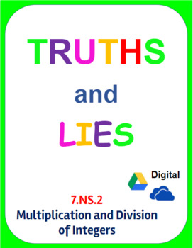 Digital Truths and Lies - Multiply and Divide Integers