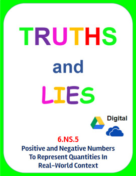 Digital Truths and Lies - Positive and Negative Numbers in Context (6.NS.5)
