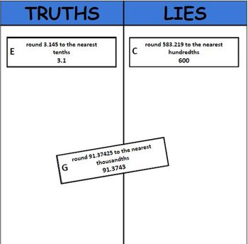 Digital Truths and Lies - Rounding Decimals (5.NBT.A.4)