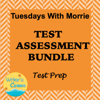 Digital Tuesday With Morrie Test Assessment Bundle