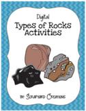 Digital Types of Rocks Activities