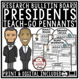Digital U.S. President Research Project Biography for Google Slide Templates