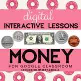 Digital US Coins & Money Interactive* Distance Learning Go