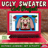 Digital Ugly Sweater Art Project & Writing Prompts for Dis