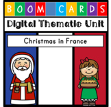 Digital Unit - Christmas in France {Distance Learning} - w