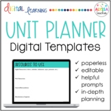 Digital Unit Plan Template