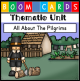 Digital Unit - Thanksgiving and the Pilgrims {Distance Lea