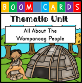 Digital Unit - Thanksgiving and the Wampanoag {Distance Learning} - with Audio!