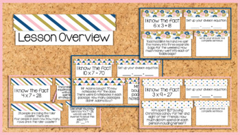 Digital Use What You Know For Google Multiplication Division Activity